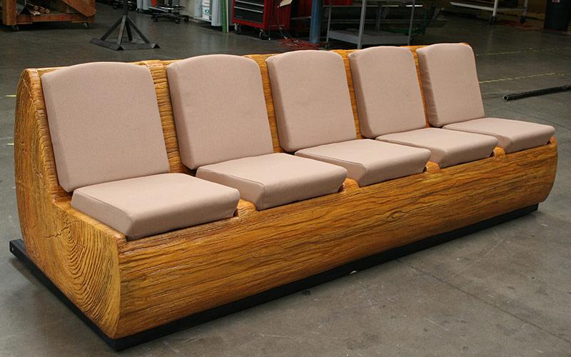 Custom Theater Seat Log