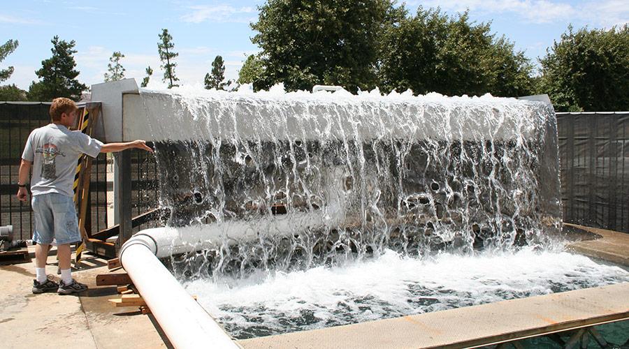 Waterfall Testing