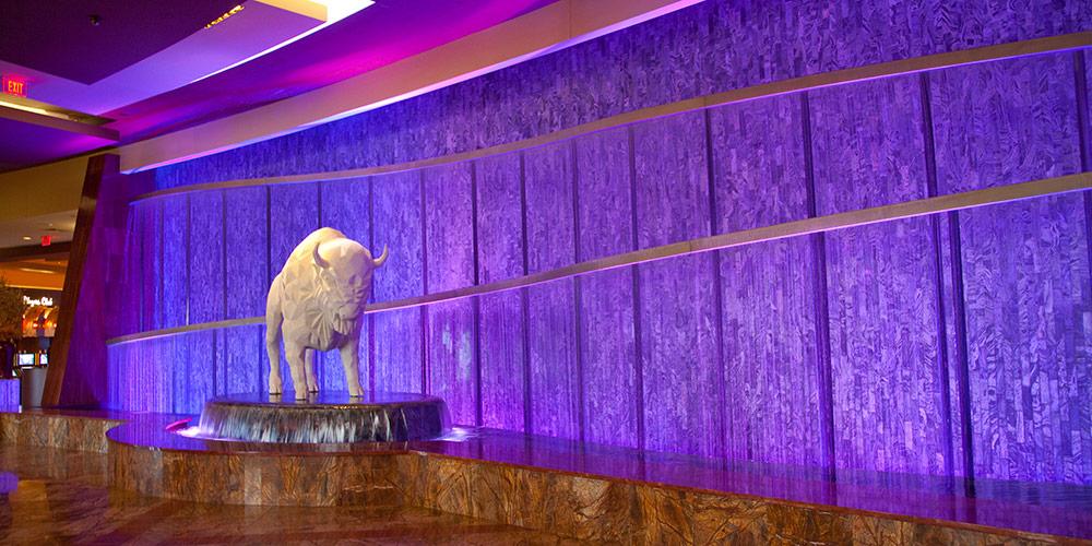 Lobby Rain Curtain