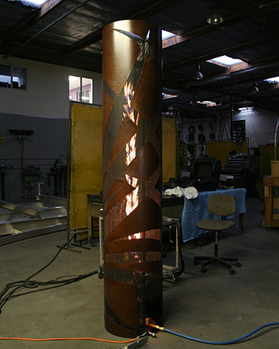 Custom Fire Torches - Testing
