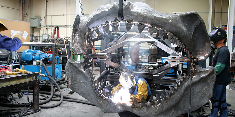 Sharkzilla - Fabrication