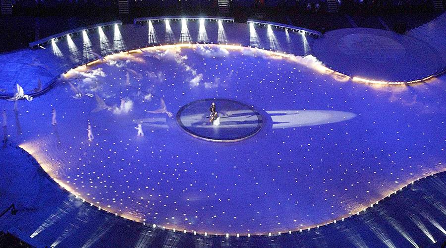 2002 Olympics - Fiber optics in Ice
