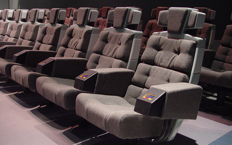 Custom 4D Theater Seats