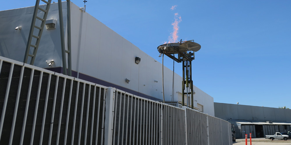 UCF - Flame Torchieres - Testing