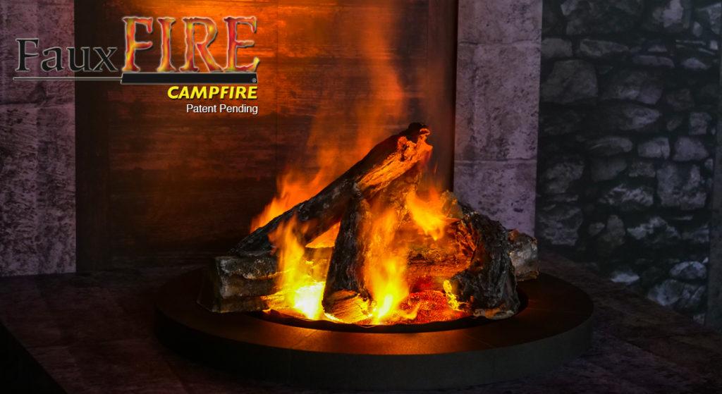 FauxFire® Campfire