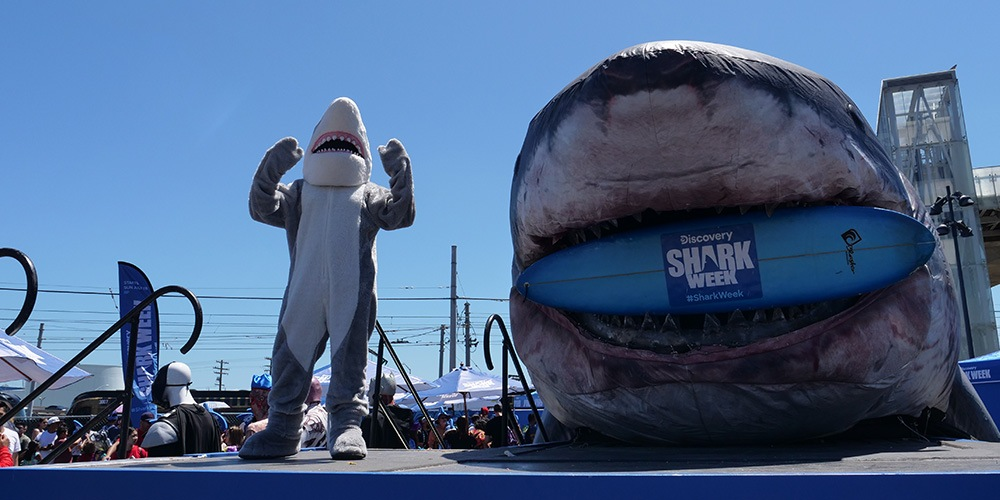 Sharkzilla Comic Con 2019