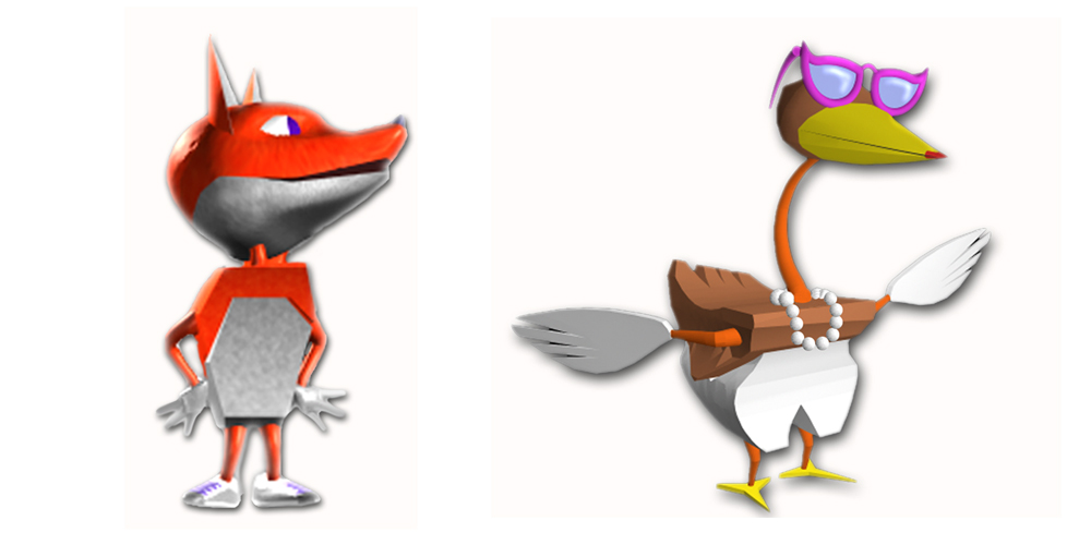 Expo 2000 - Character Designs