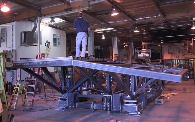 Borg Invasion 4D - Motion Base Fabrication