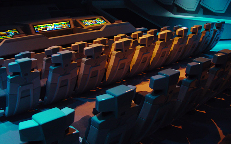 Borg Invasion 4D - Custom 4D Theater Seats