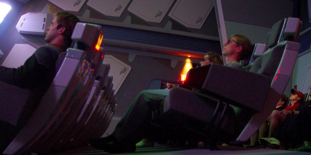 Borg Invasion 4D - Custom 4D Theater Seats