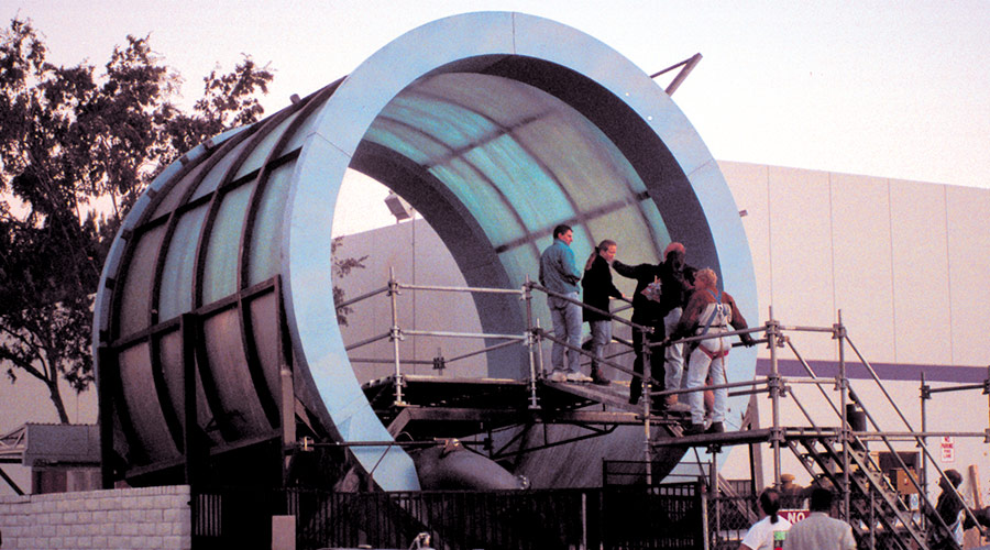 Water Tunnel Mock-up and Testing