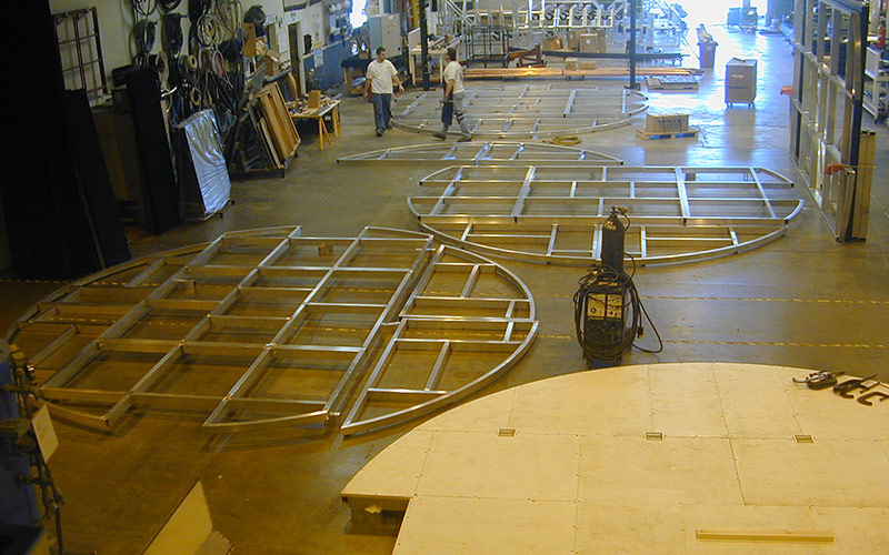 Electric Powered Platforms - Fabrication