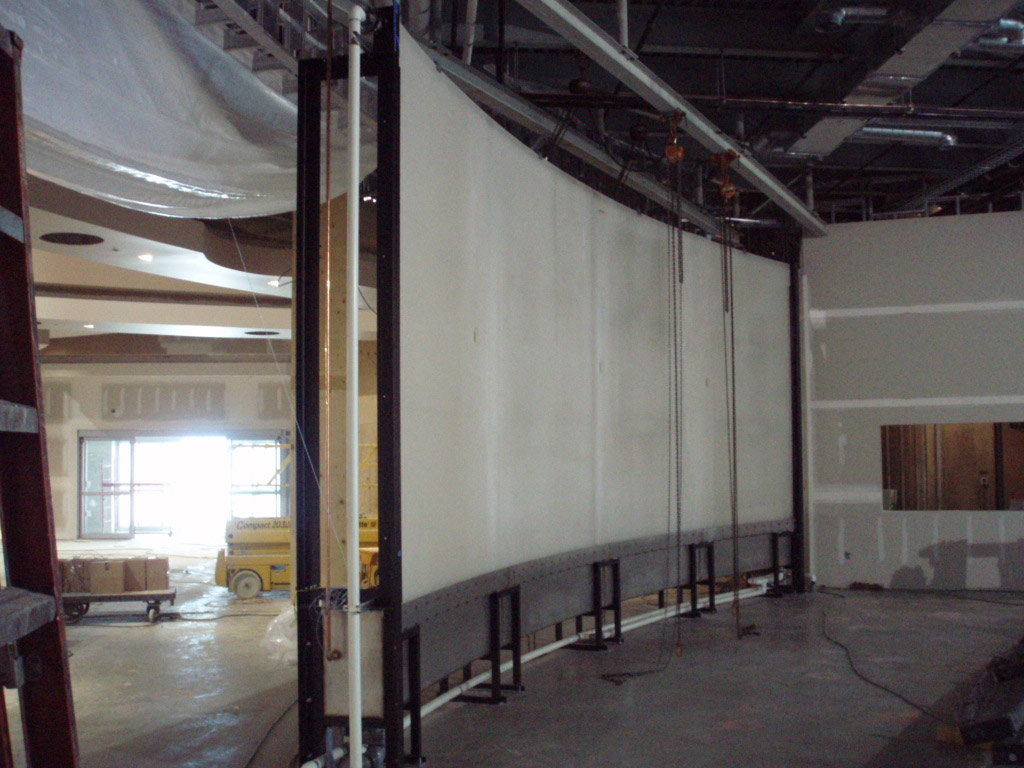 Custom Flowscreen Waterwall - Installation