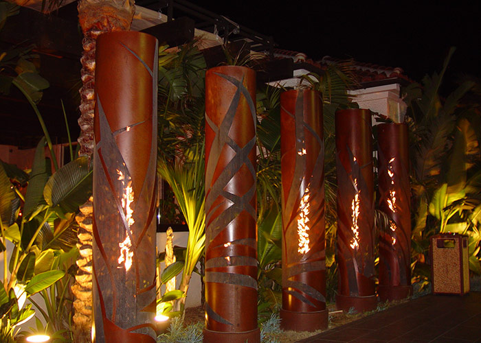 Custom Fire Torches