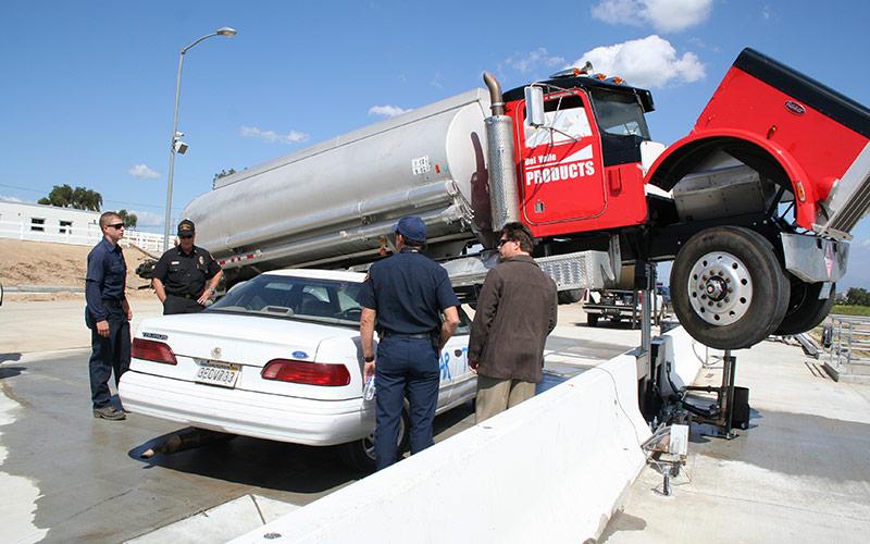 LACOFD Hazmat Training - Truck Lift