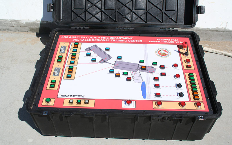 LACOFD Hazmat Training - Control Panel