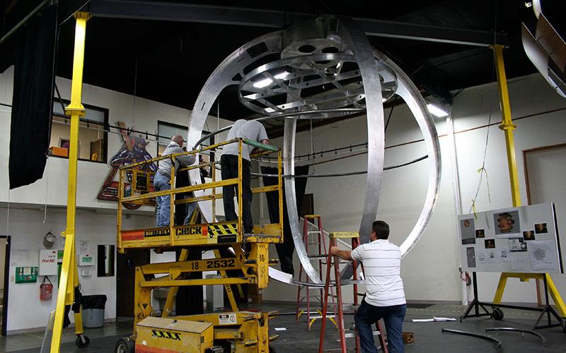Light Sculpture Fabrication