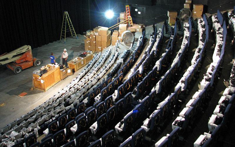 4D Theater Seats - Installation