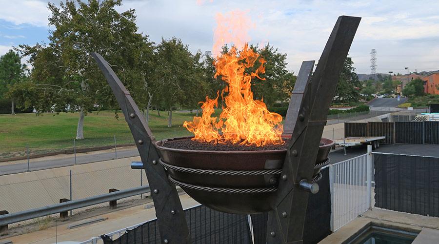 Fire Cauldrons - Testing