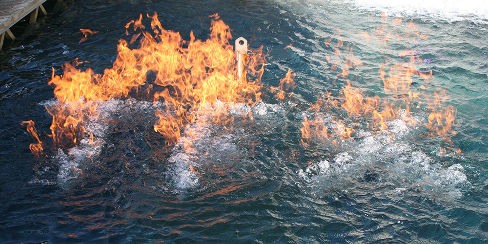 Fire on Water