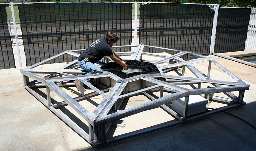 Base Frame Fabrication