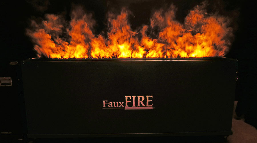 FauxFire - Simulated Fake Flame Fire