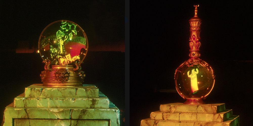 Crystal Ball Effect