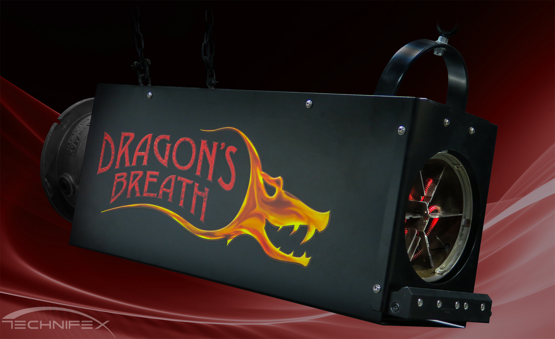 dragon's breath heat blaster