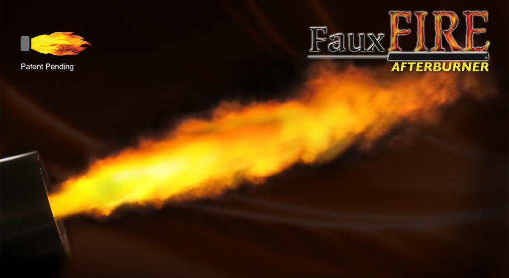 Simulated Flame Blast