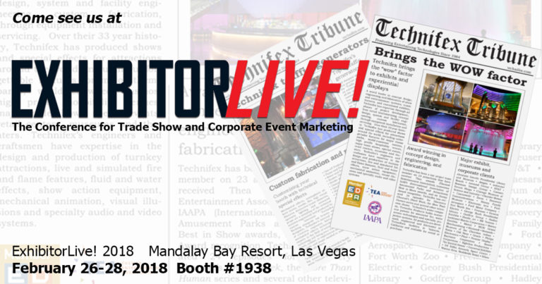 Technifex at ExhibitorLive18