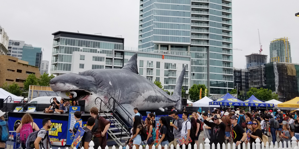 Sharkzilla - Comic Con